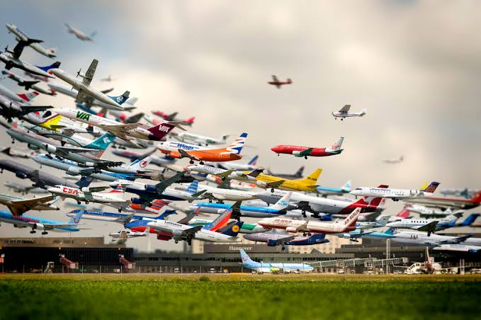 Airplanes form a major part of the holiday season.