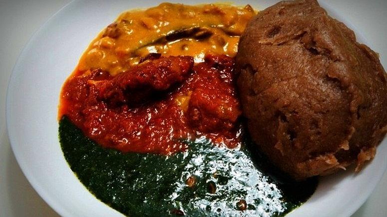 Amala and ewedu restaurant