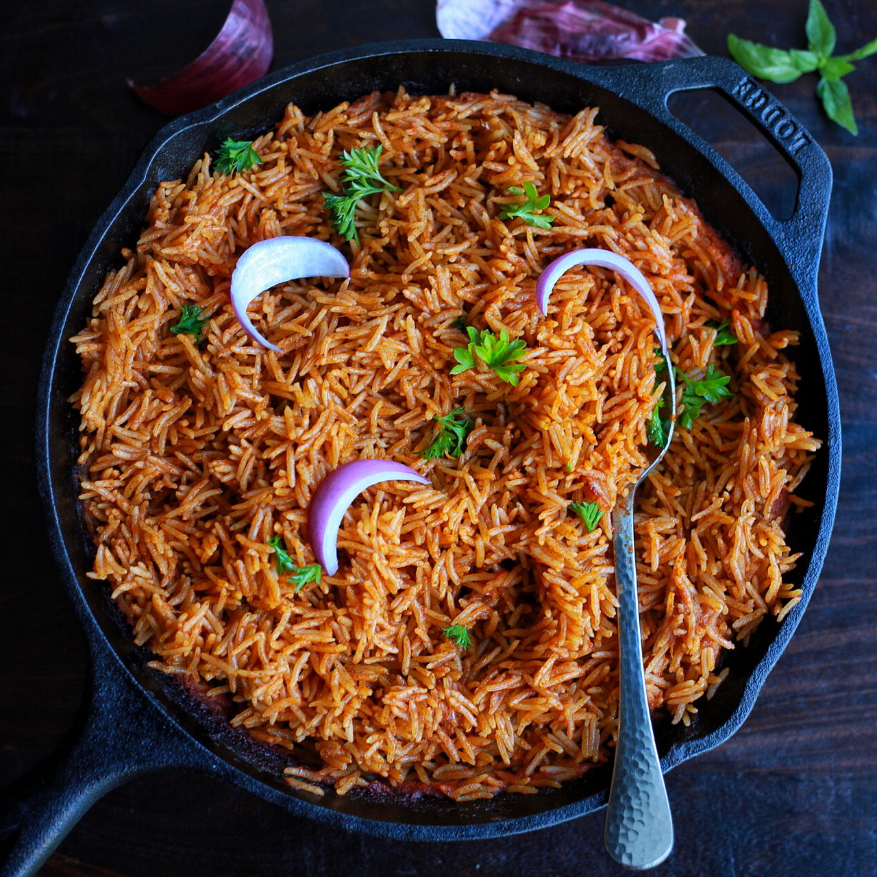 Jollof Rice Ibile Foods and lounge