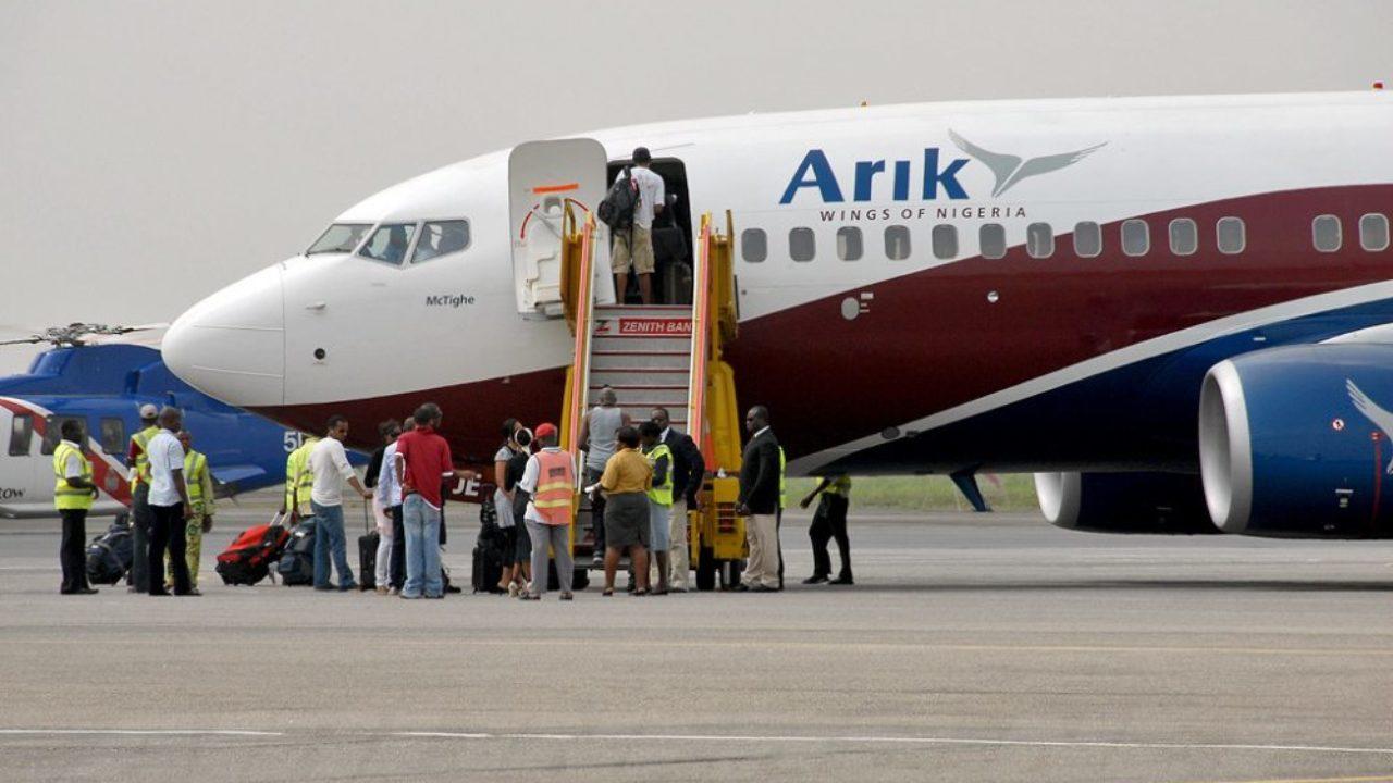 Lagos to Abuja flight