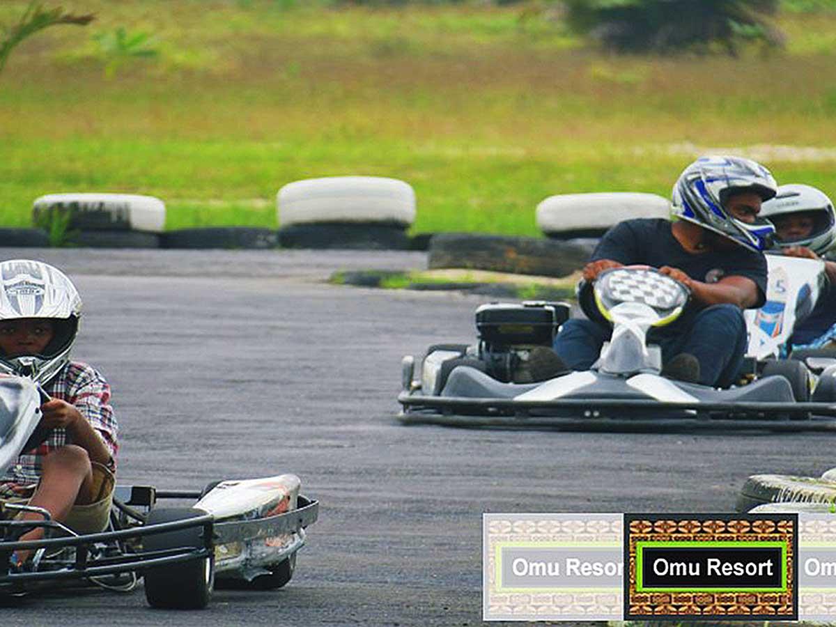 Go Kart Omu Resort