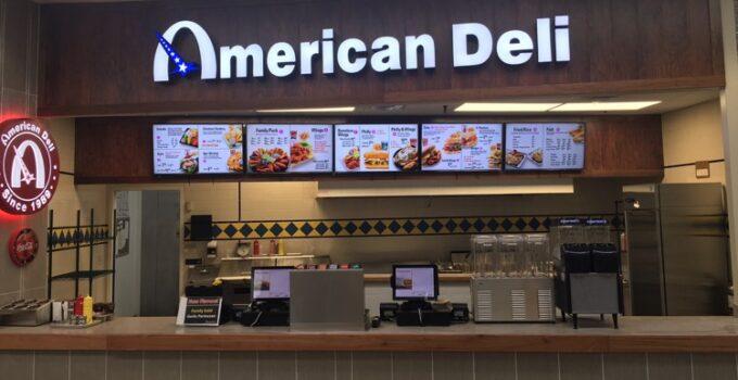 american deli menu prices